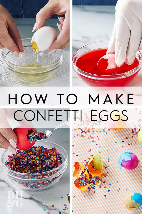 Cue The Confetti How To Make Cascarones For Easter