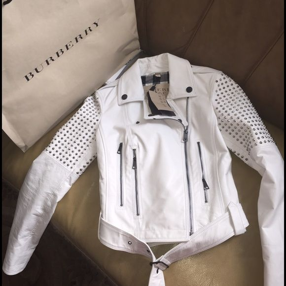 burberry leather jacket Brand new. 100% authentic Burberry Jackets & Coats