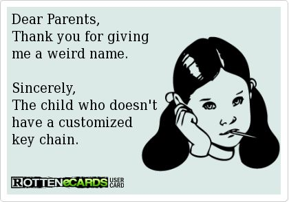 Thanks a lot, Mom & Dad!