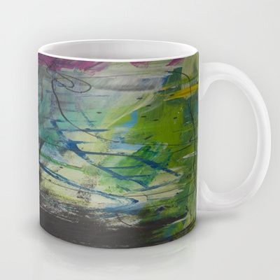 colors of the week - thursday Mug by Helle Pollas - $15.00