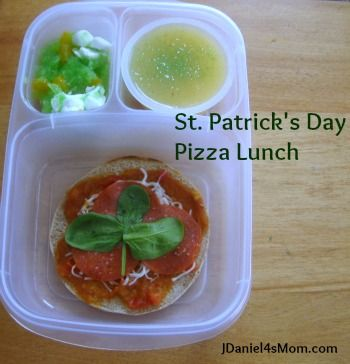 St. Patrick's Day Lunch for Mother and Son