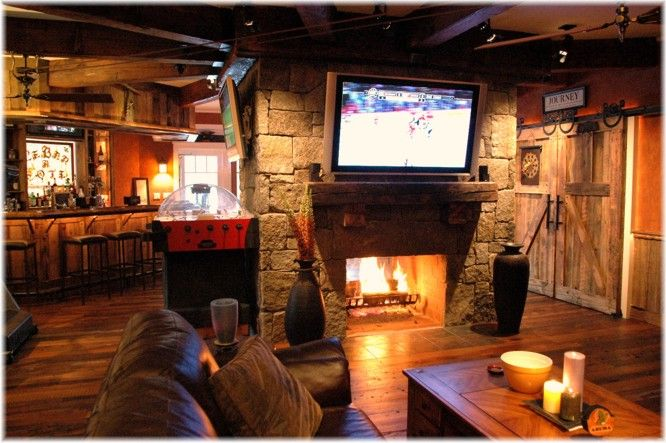 Man Cave Basement Bar : Images about man cavin it on pinterest cave