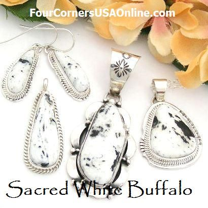 Sacred White Buffalo Jewelry Native American In 2018 Am Turquoise Pinterest And