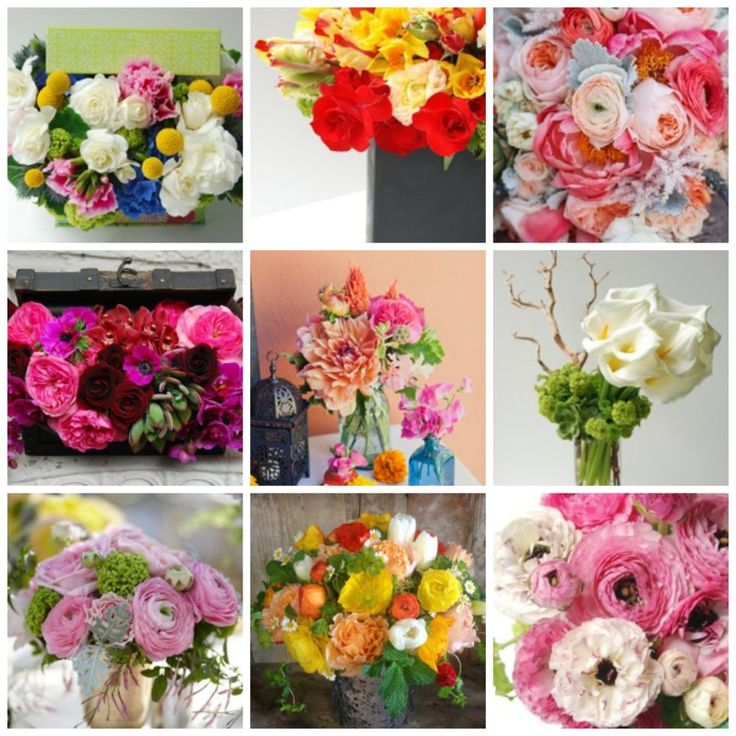 Flowers Of Each Month: 142 Best Images About Floral Arrangements On Pinterest