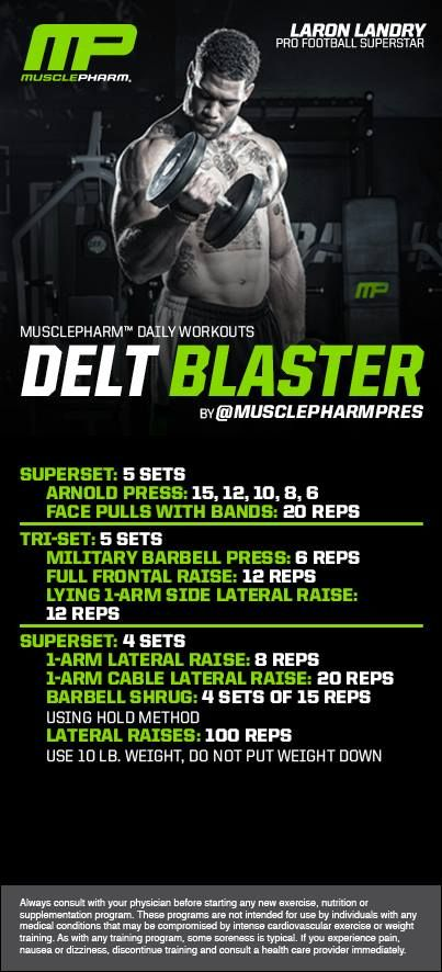 Killer delt workout!