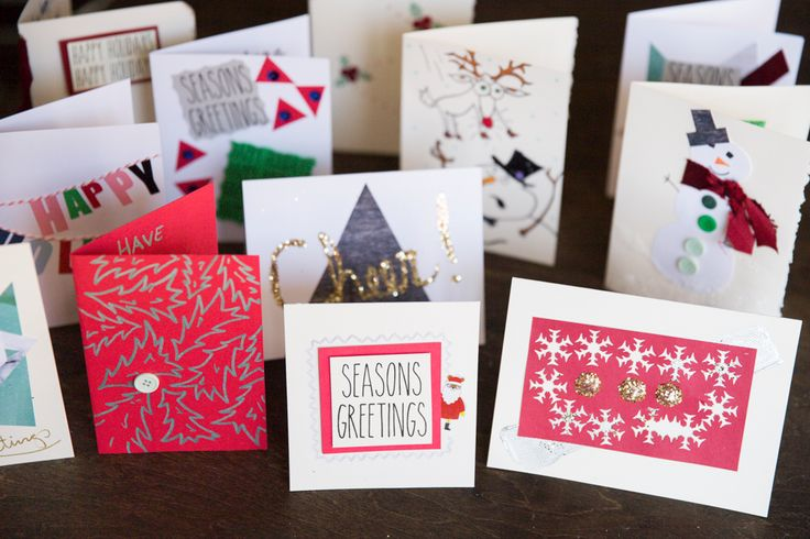 #diy holiday cards