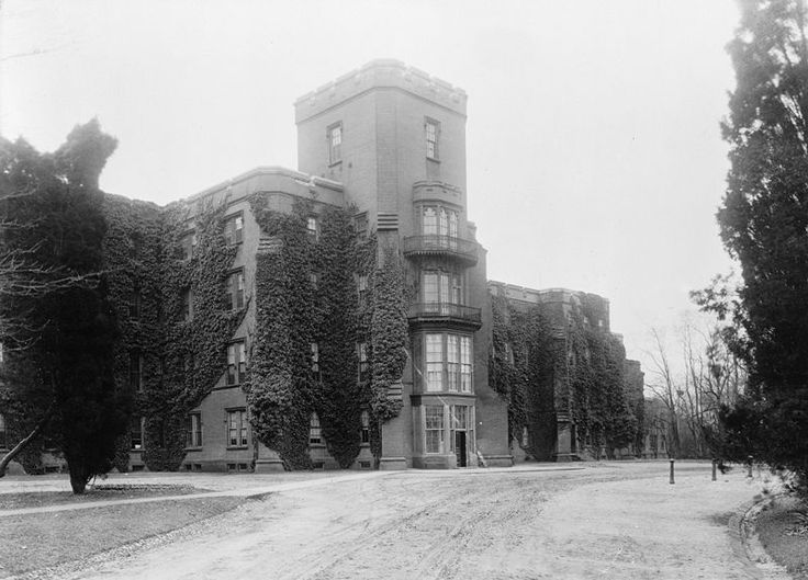 for the insane | Center Building, St. Elizabeths, Another Government Insane Asylum