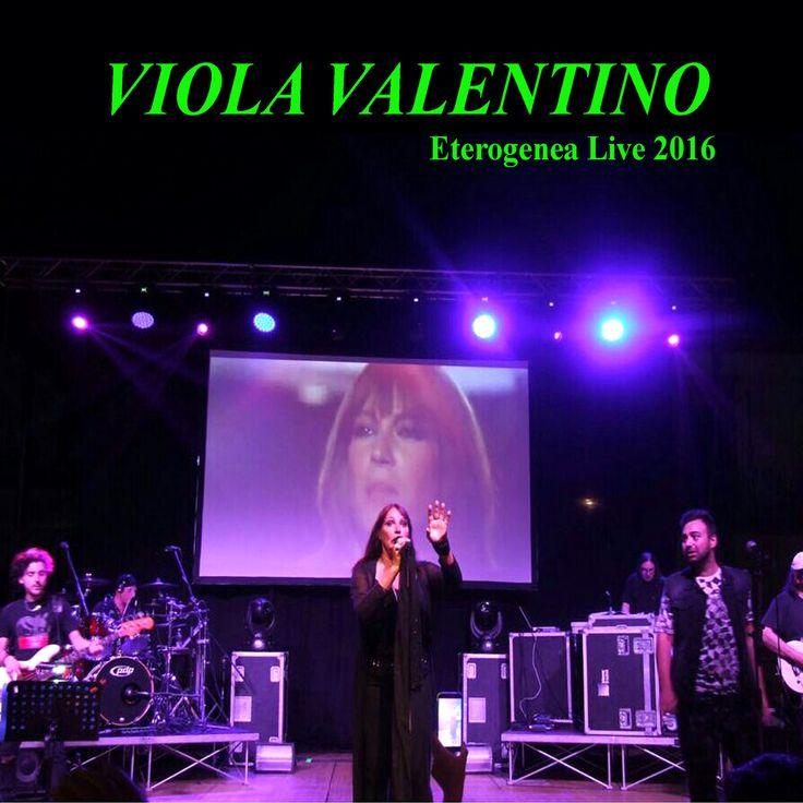 """""""Eterogenea LIVE 2016, il primo album live di Viola Valentino http://libriscrittorilettori.altervista.org/eterogenea-live-2016-primo-album-live-viola-valentino/ #violavalentino #giovannigermanelli #singolo #eterogenealive2016"""