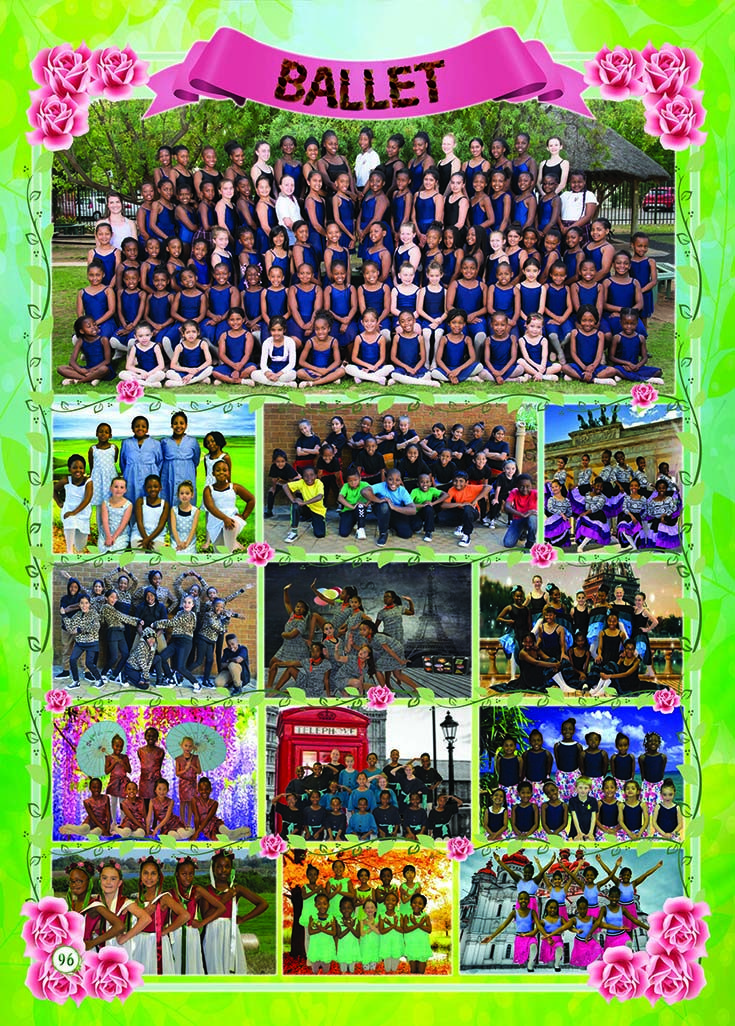 Yearbook Theme: Ecosystem - Extra mural activities (flowers)