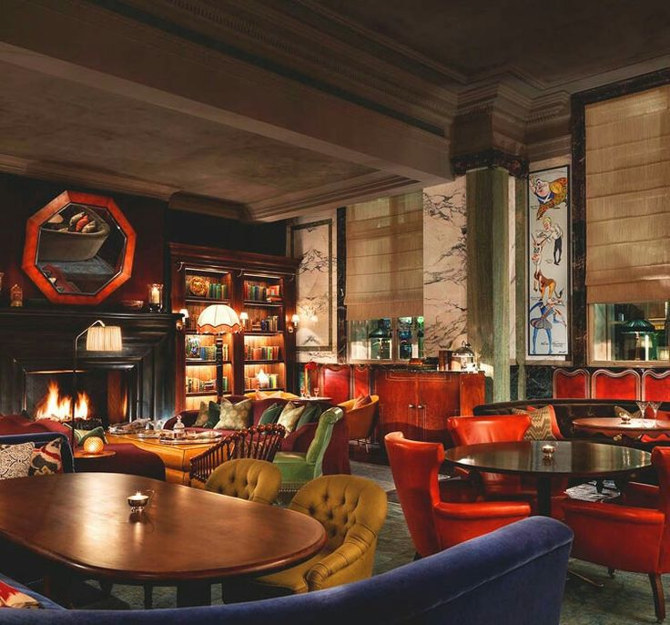 Scarfes Bar Is A Unique London Inspired By The Atmosphere Of Drawing Room And Sophistication Gentlemans Club