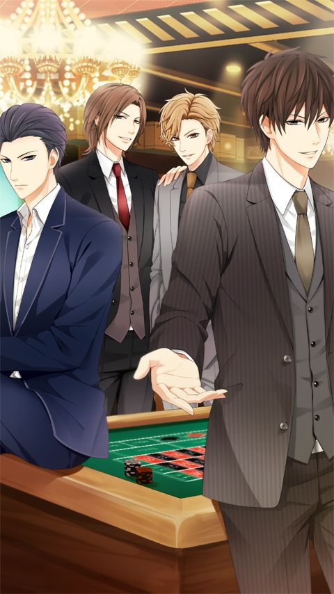 Kissed by the baddest bidder!! I love this app!! Soryu is my favorite!! Bottom left
