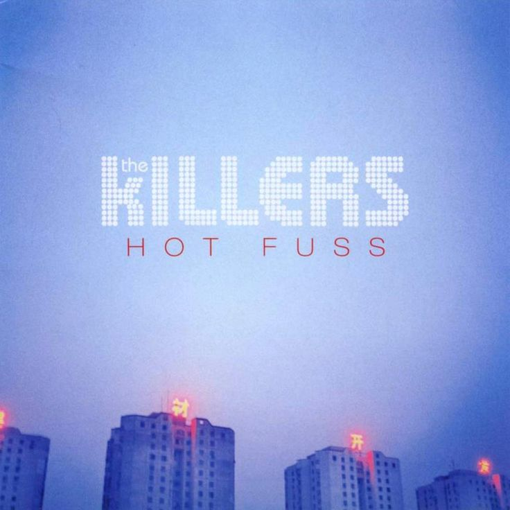 The Killers - Hot Fuss. #albumart #albumcovers #thekillers http://www.pinterest.com/TheHitman14/album-cover-art/