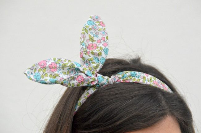 "Plus... Kawaii! - A plus size fashion blog: DIY: fascia per capelli ""orecchie da coniglio"" (collaborazione The Creative Factory) ‪ #diy #tutorial #bunnyear #thecreativefactory #handmadeeaster"