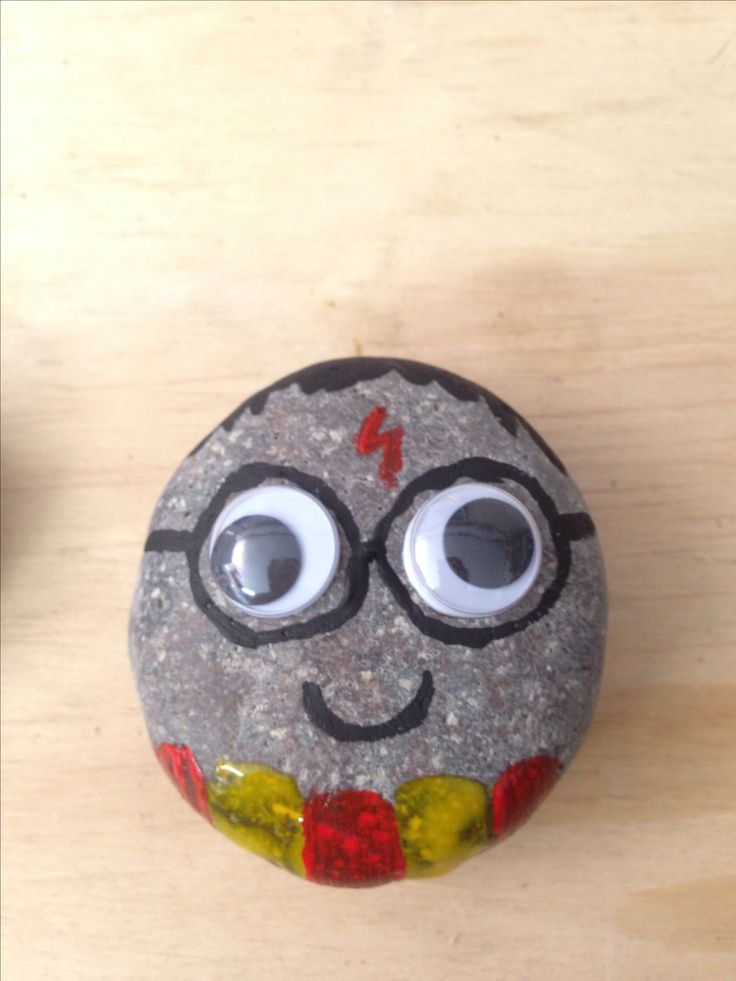 Harry Potter crafts rock buddy