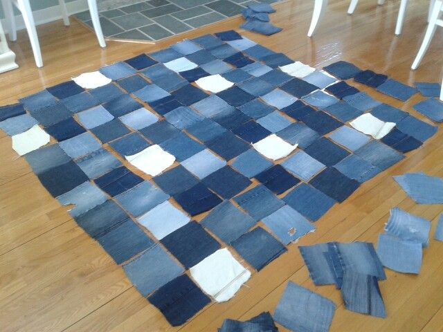 So excited!!  #jeans #design #blanket