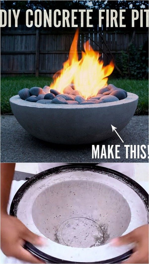 DIY Fire Bowl Ideas That Will Make Your Summer Amazing – Fire Pit / Feuerstelle
