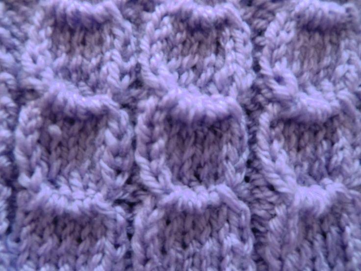 Knit Pattern * HALF MOON *