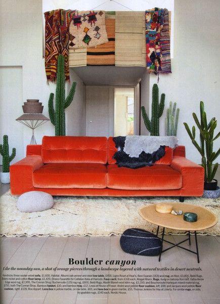 Cactus chic in Livingetc