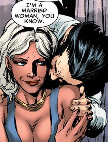 Storm & Wolverine