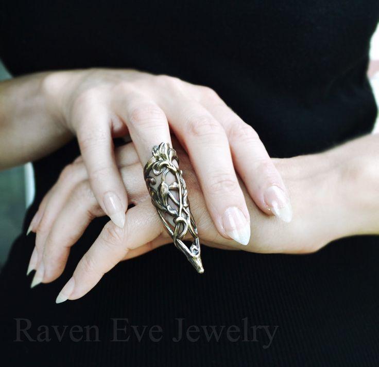 Arwen Elegant Vintage Brass Knuckle Ring Armor Ring Sale was 32.00. $26.00, via Etsy.