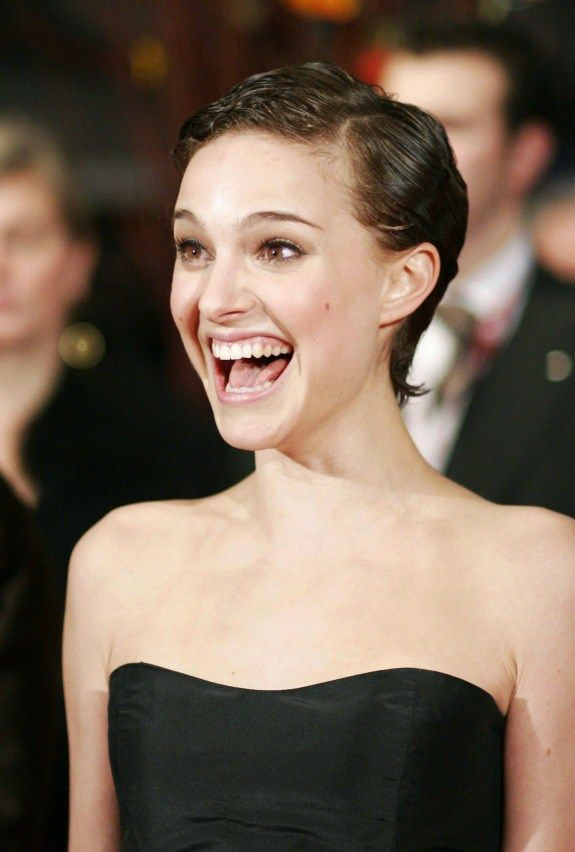 Natalie portman head shaved