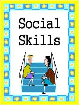Friends Social Skills Worksheets - Karen Covington - TeachersPayTeachers.com