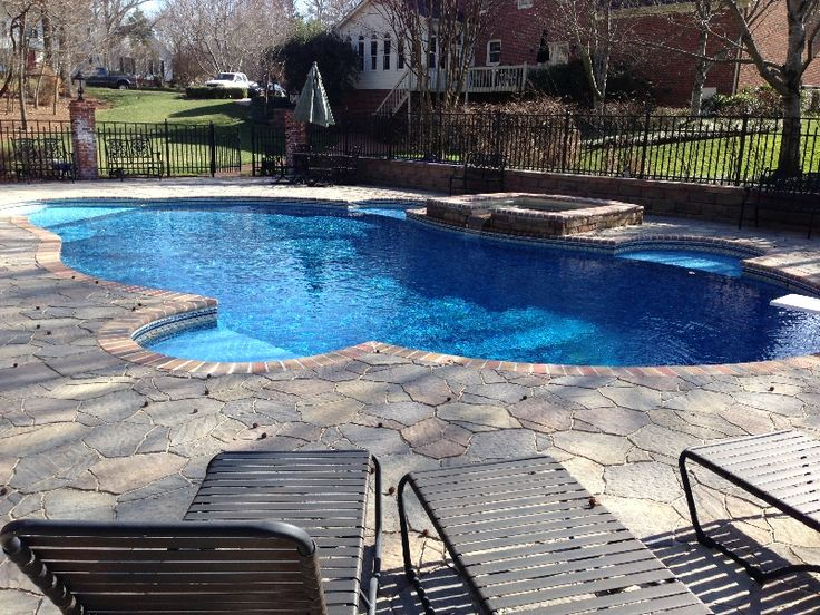 Best 25 vinyl pool ideas on pinterest vinyl pools for Innovative pool design kings mountain