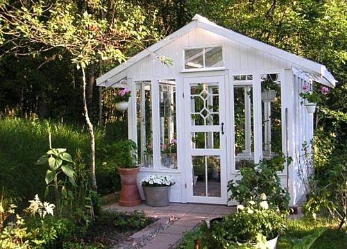 Itse tehty kasvihuone tai huvimaja (sivu 12)  Greenhouse