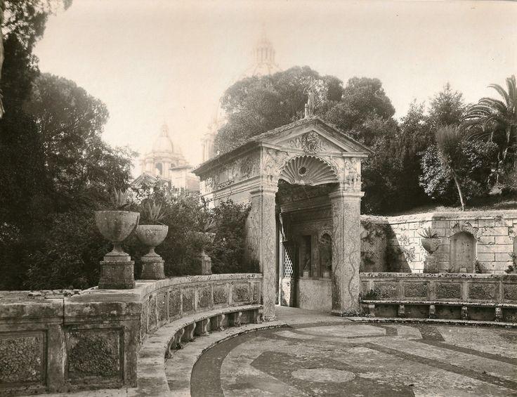 Atrio del casino di Pio IV - Giardino Vaticano