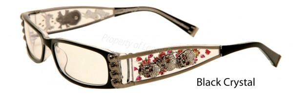 Ed Hardy EHO 712 Eyeglass FramesPrescription Eyeglass Lenses Ready