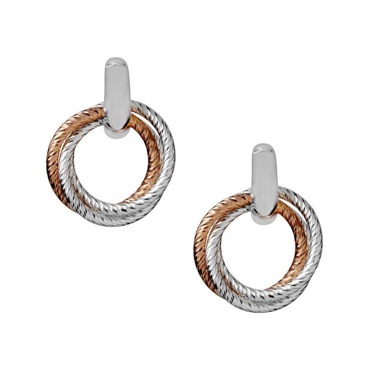 Aurora Cluster Link Stud Earrings, Links of London Jewellery