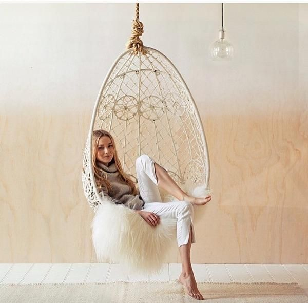 Byron Bay Hanging Chair- Gypsy - norsu interiors - 1