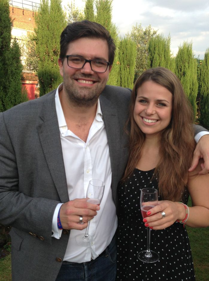 Account Managers Dani and Jim - Siren #SummerParty