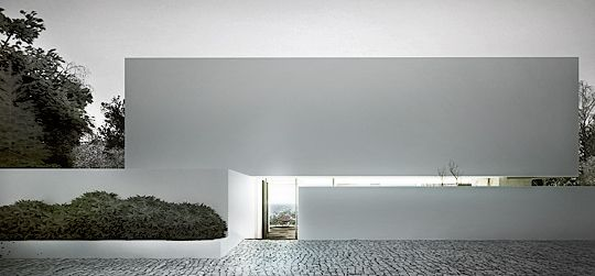 Design and render for a single family home by Polish office Arch 515. Beautiful render.