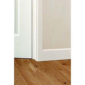 Wickes Fully Finished MDF Large Round Architrave 14.5x44x2100mm Pack 5