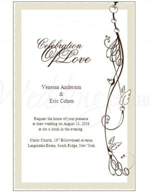 Free Formal Invitation Templates