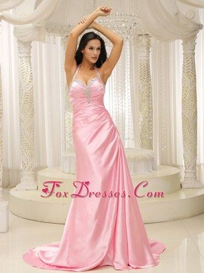 Baby Pink Prom Dresses | Light Pink Prom Dress | Baby Pink Evening ...