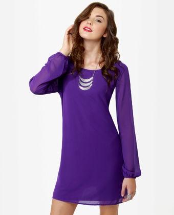 Cute color: Pretty Purple, Purple Dresses, Clothing, Closets, Alyssa Style, Purple Shift, Shift Dresses, Products, Royal Purple
