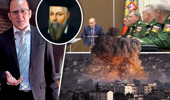 CHINA and Russia will start WWIII against the USA within six months of Europe closing its borders because of the migrant crisis, according to a self-style Nostradamus.