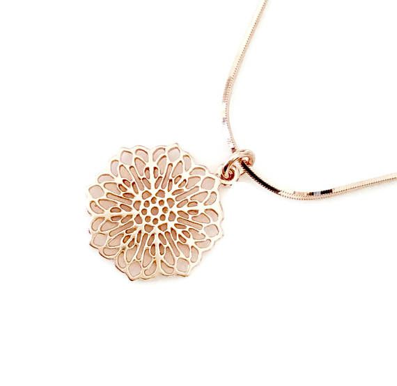 33 best Rocks Handmade Jewellery Rose Gold Necklaces images on