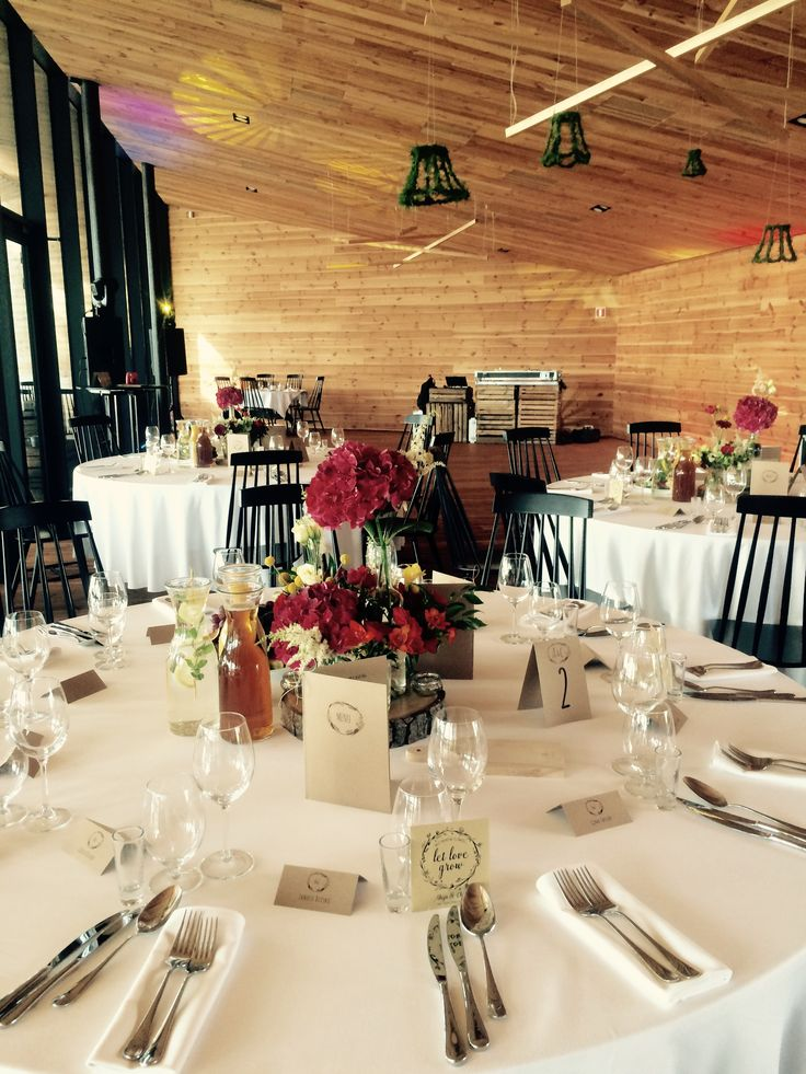 Drewniana sala weselna || Wooden reception hall