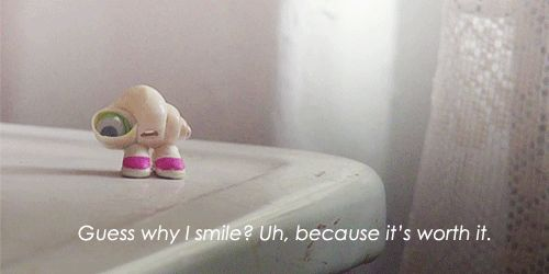 marcel the shell with shoes on!!! If you have not seen this, go on YouTube and watch it!! You will not stop laughing!!