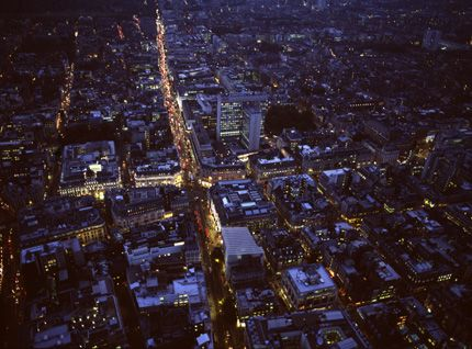 Oxford Circus, Oxford Street and Regent Street