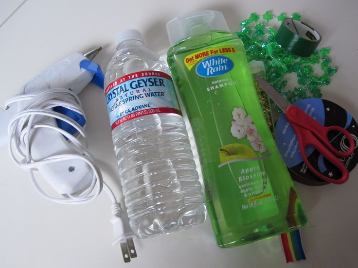 Discovery bottles - get old bottles from mom.  Tape lid shut after putting cool stuff inside with food coloring.