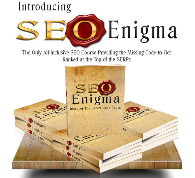 SEO Enigma Main Course Review – The Only All-Inclusive SEO Course Providing the Missing Code To Get Ranked at the Top of the SERPs – JVZOO MARKETPLACE