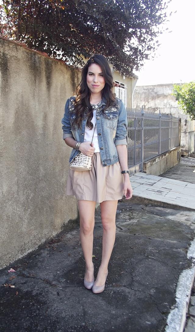 Oh My Fashion Blog: Look do Dia: Jaqueta Jeans
