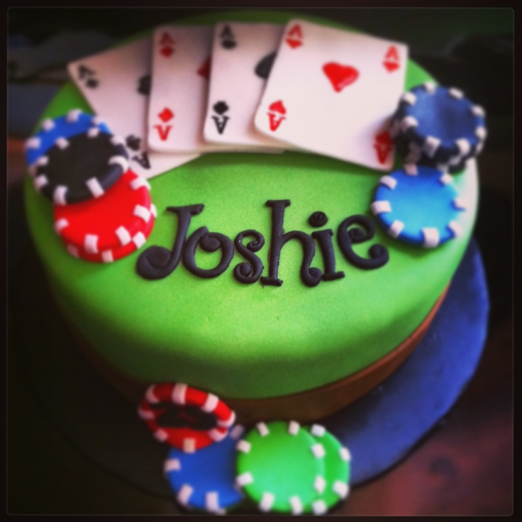 1000 Images About Fondant Poker Theme On Pinterest Fondant Toppers Birthday Cakes And