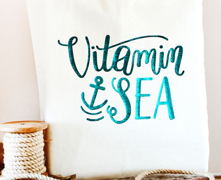 Learn how to make your own foiled DIY beach bag with this step by step tutorial. It's fun to make and you'll love the results!