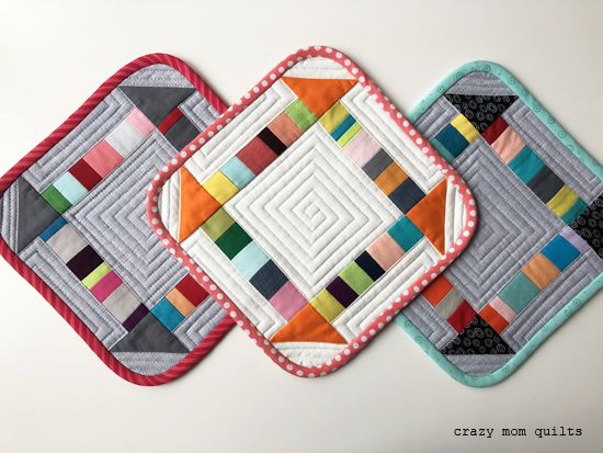 Hello! I thought that it would be fun to share a tutorial for making a scrappy churn dash block today. I originally planned to include this ...