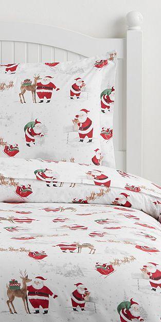 Santa Bedding Collection #santa #christmas holiday Ideas